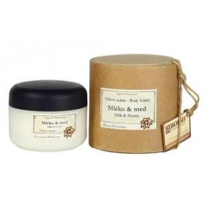 Tělové máslo MLÉKO A MED (150 ml)