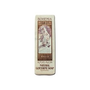 Toaletní mýdlo s aqua minerály 125 g - Alfons Mucha