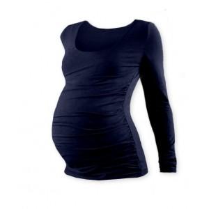 Těhotenské triko s dlouhým rukávem