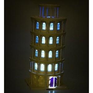 Osvětlení šikmé věže