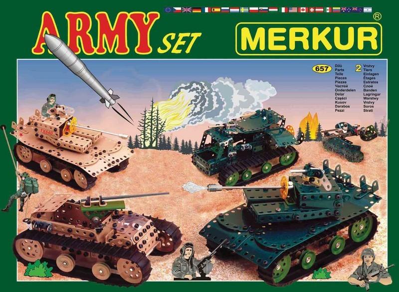 Speciální stavebnice Merkur SAFARI set