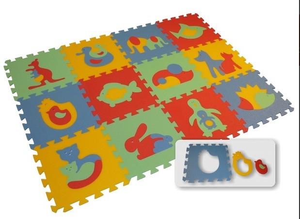 Pěnový koberec Maxi 12 ZVÍŘATA (8 mm)