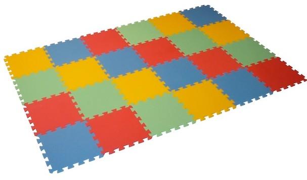 Pěnový koberec MAXI 24 mix barev (8mm)