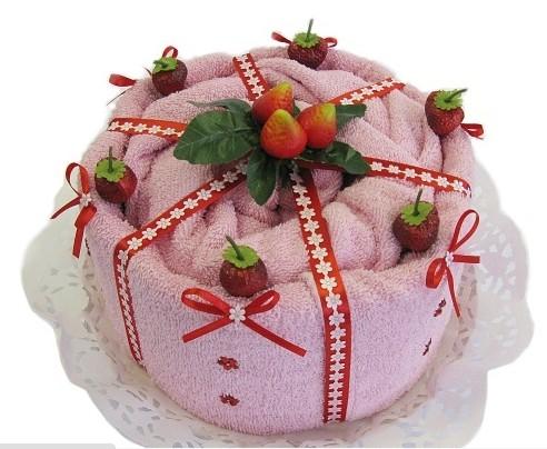 Dort jahodový růžový