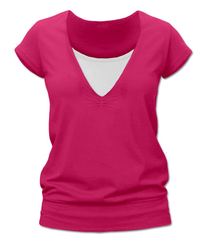 Kojící tričko (krátký rukáv)