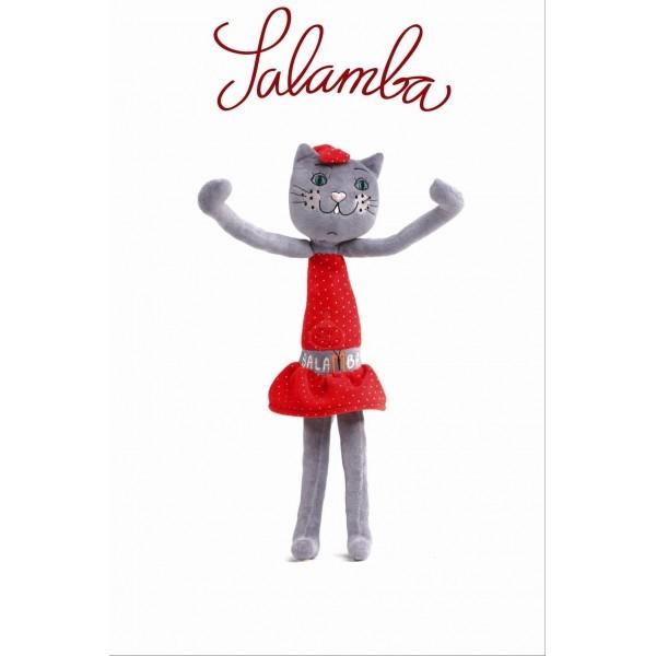 Kočka Salamba s návodem pro hravé cvičení
