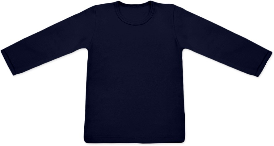 Tričko s dlouhým rukávem s elastanem (vel. 74-140)