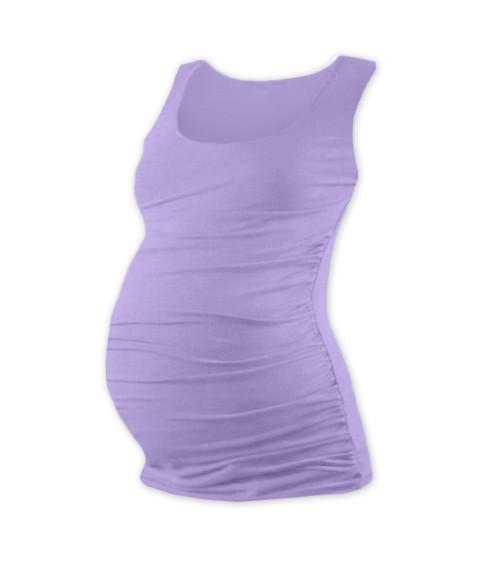 Těhotenské triko bez rukávů
