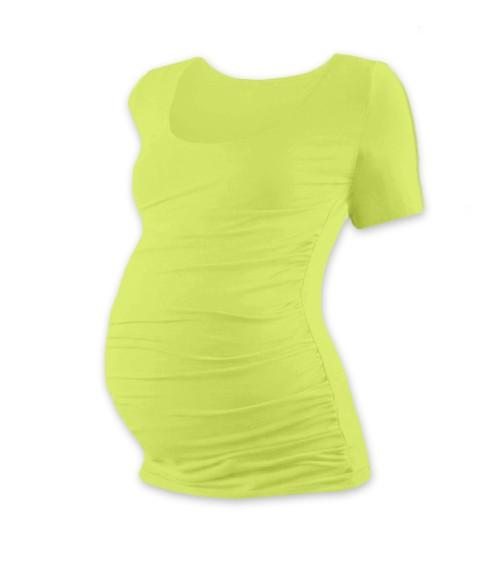 Těhotenské triko s krátkým rukávem