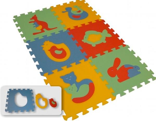 Pěnový koberec MAXI 6 zvířata (1)