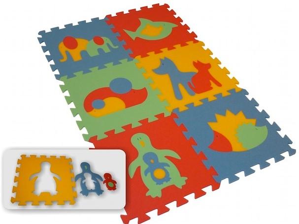 Pěnový koberec MAXI 6 zvířata (2)