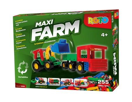 ROTO STAVEBNICE - Maxi FARM 255 dílků
